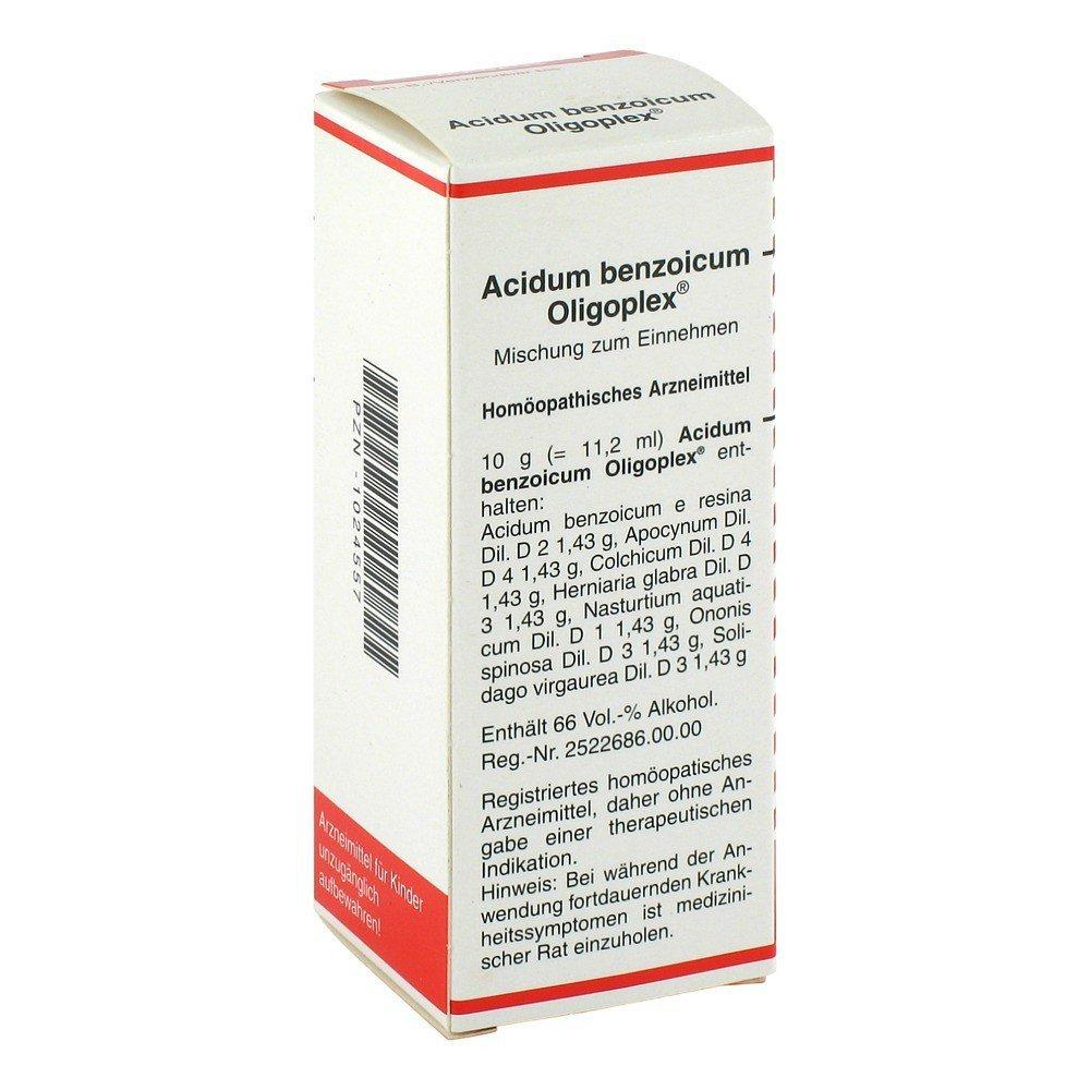 ACIDUM benzoicum Globuli bei medpex bestellen