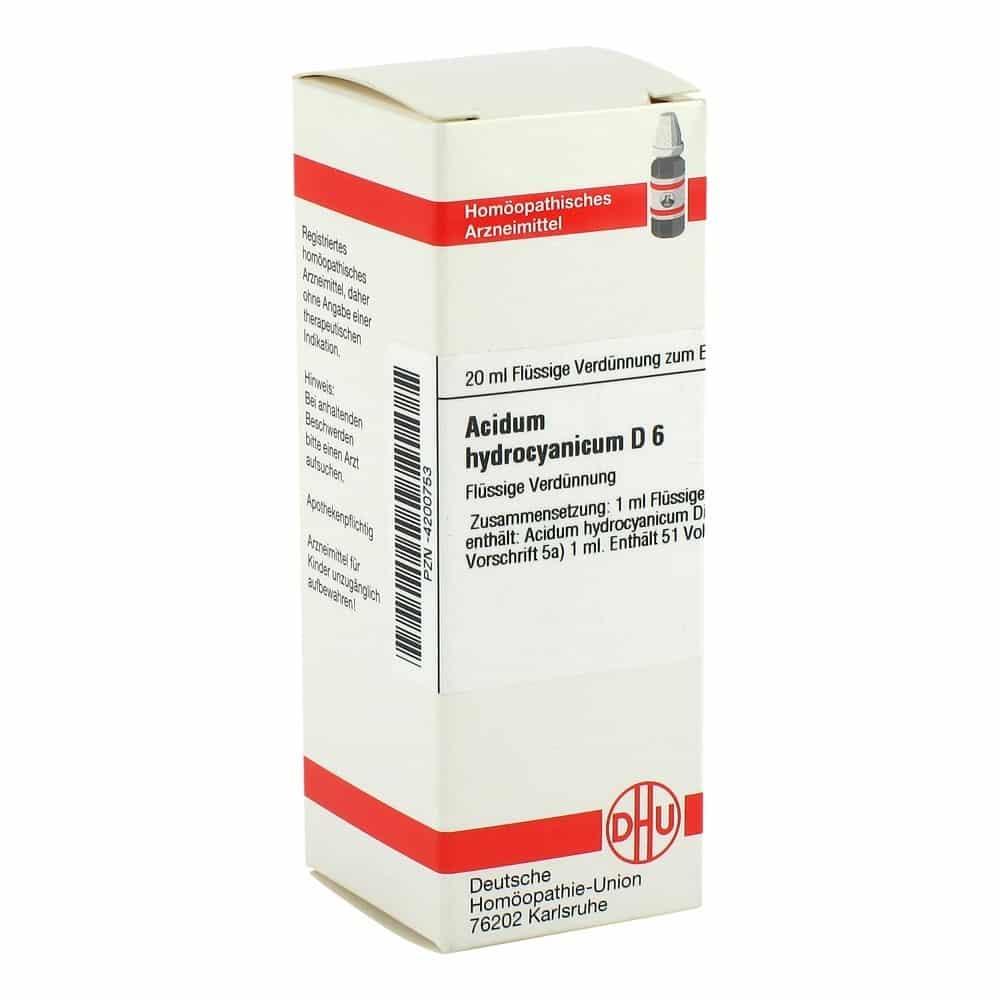 ACIDUM hydrocyanicum Globuli bei medpex bestellen