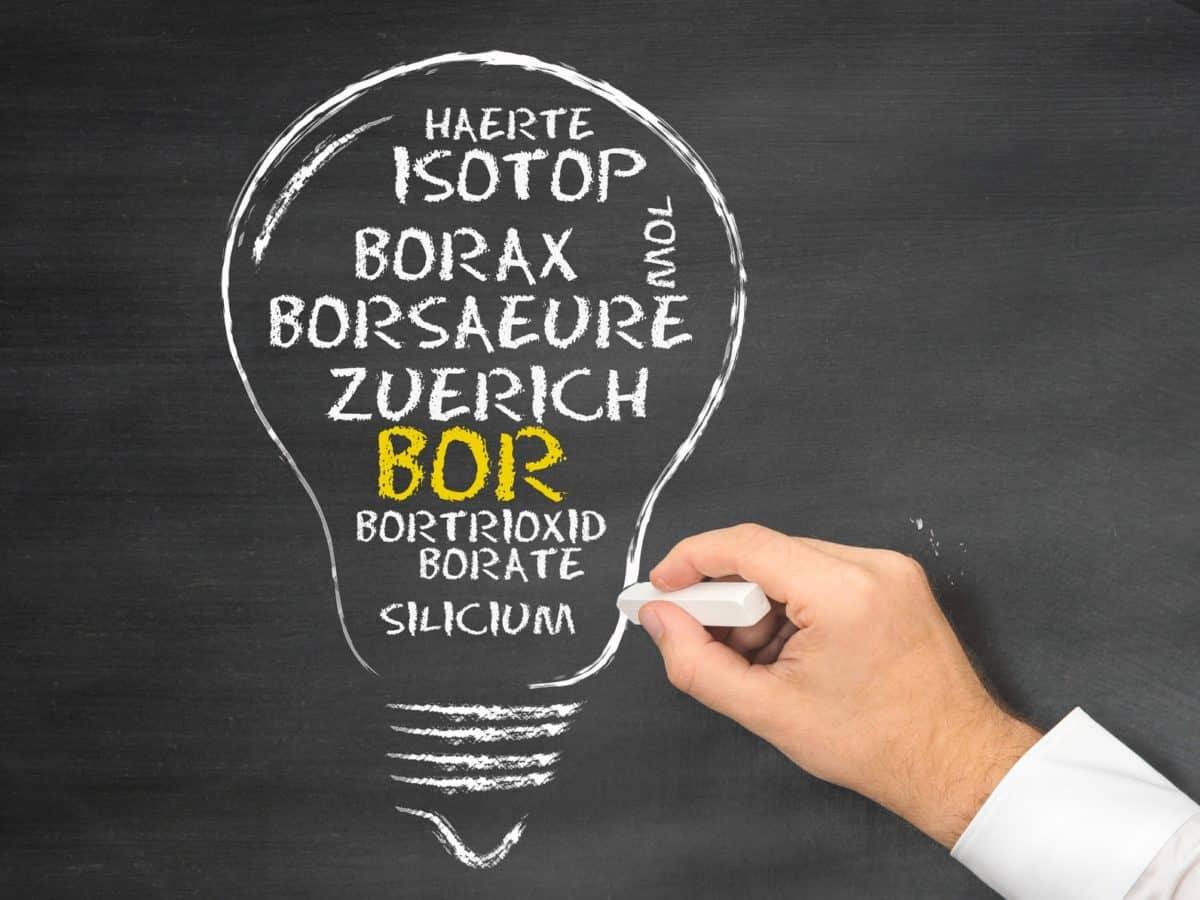 Erfahre mehr über Borax und die heilende Wirkung bei Krankheiten wie Ausfluss, Schwindel und Ängste. Fotolia © CrazyCloud