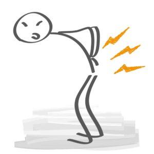 Bandscheibenprobleme? Mit unseren Hausmitteln kannst du deinem Rücken etwas gutes tun und einer gesunden Behandlung beginnen. © Trueffelpix