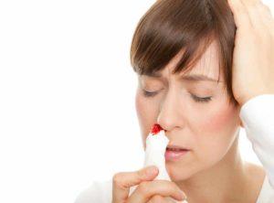 Nasenbluten mit Hausmitteln behandeln