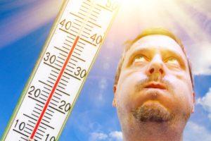 Sonnenstich mit Hausmittel behandeln