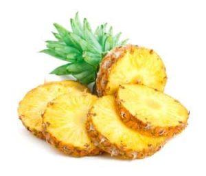 Ananas gegen Angina, Halsschmerzen und Bronchitis