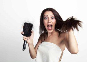 Haarprobleme mit Hausmitteln behandeln